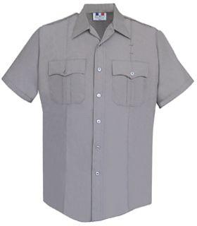 Fechheimer 176R5441 Short Sleeve Gray Blouse