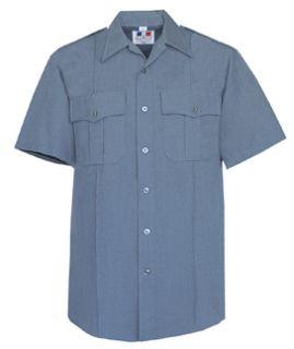 Fechheimer 176R5826 Women's Short Sleeve French Blue Shirt