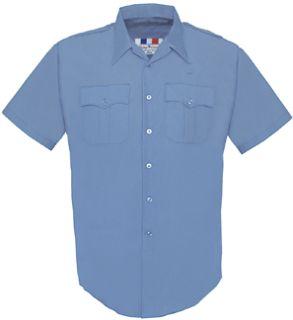 Fechheimer 189R5425 Ladies Short Sleeve Police Shirt  Medium Blue