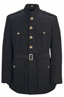 Fechheimer 19B9996C Mens U S Marine Officers Dress Blue Coat