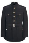 Single Breasted 55/45 Poly/Wool Military Officer Marine Corp Blue