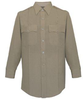Fechheimer 19W6604 Mens Long Sleeve Police Shirt Silvertan