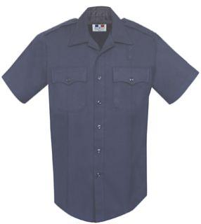 Fechheimer 254R3986 Navy Short Sleeve 70%Poly.-28%Rayon-2%Lycra