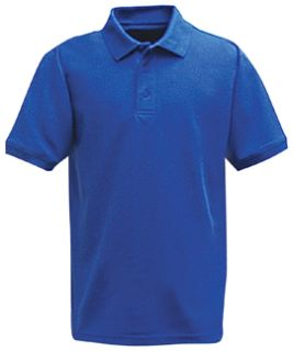 Fechheimer 3000ABU Short Sleeve P3 Cotton Polo Pique Academy Blue