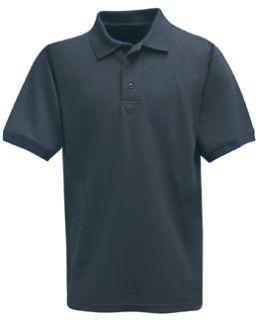 Fechheimer 3000NV Short Sleeve P3 Cotton Polo Pique Navy Shirt