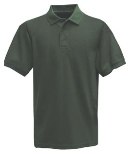 Fechheimer 3000SGN Short Sleeve P3 Cotton Polo Pique Spruce Green Shirt