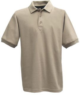 Fechheimer 3000TN Short Sleeve P3 Cotton Polo Pique Tan Shirt