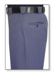 Men's French Blue T-3 Trouser, 55/45 Polyester/Wool, Tropical Weave