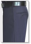 Men's Navy Blue T-2 Trouser, 55/45 Polyester/Wool, Serge Weave