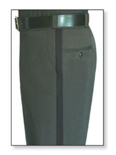 Fechheimer 34256BK Womens Spruce Green Trousers W/1