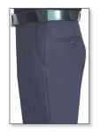 Men's Navy Blue T-3 Trouser, 55/45 Polyester/Wool, Serge Weave