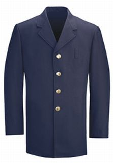 Fechheimer 34800 Navy Serge Single Breasted Coat
