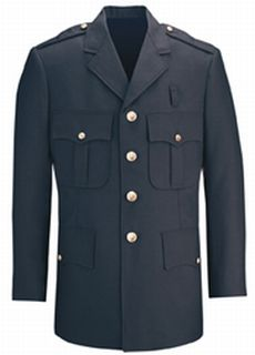 Fechheimer 34880 Navy Dress Coat