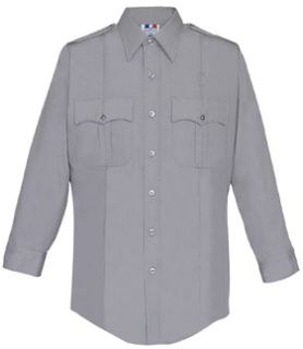 Fechheimer 35W5441 Mens Long Sleeve Police Shirt Silver Grey 6