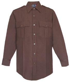 Fechheimer 35W7884 Mens Long Sleeve Brown