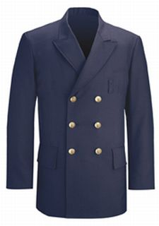Fechheimer 38804 Navy Blue Lined Db Dress Coat