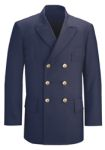 Fechheimer 38804 Navy Blue Lined Db Dress Coat