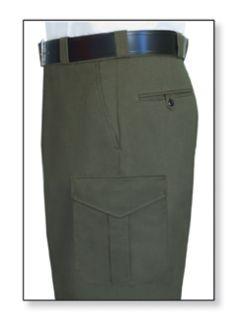 Fechheimer 39305 Forest Green Trouser 70%P-28%Ray-2&Lycra
