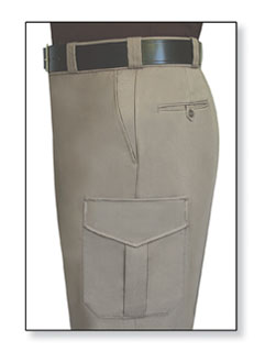 Fechheimer 39366 Tan (Taupe) Trousers 70%Poly-28%Rayon-2&