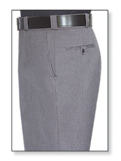 Fechheimer 39404 Grey Trouser 70%Poly-28%Rayon-2&Lycra