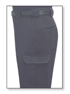 Fechheimer 44900 Navy Poly/Wool/Lycra Trouser W/Cargo Poc