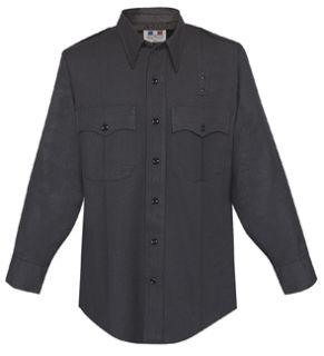 Fechheimer 47W3910 Men's Long Sleeve Black 70%P/28%R/2%L