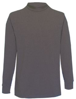 Fechheimer 52510 Black Turtleneck Shirt