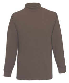 Fechheimer 52594 Brown Turtlneck Shirt