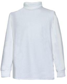 Fechheimer 52600 White MOC Turtleneck Shirt