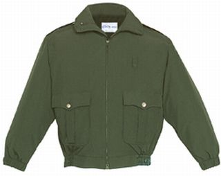 Fechheimer 59135 Green Duty Jacket With Liner