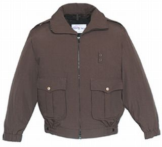 Fechheimer 59139 Dark Brown Duty Jacket With Liner