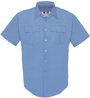 Fechheimer 65R5435 Mens Short Sleeve Police Shirt Marine Blue