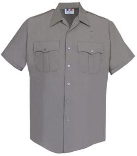 Fechheimer 65R5451 Mens Short Sleeve Police Shirt Nickel Green