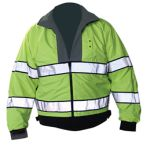 Reversible Hi-Visibility Black/Fluorescent Yellow