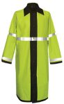 Fechheimer 77120 Black / Yellow Reversible RainCoat 47