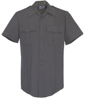 Fechheimer 87R7810 Black Short Sleeve Shirt