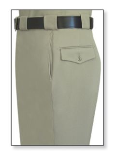 Fechheimer 918WT Silver Tan WoMen's Poly Trousers No Club