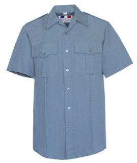 Fechheimer 95R6626 Mens Short Sleeve Police Shirt French Blue