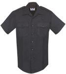 Fechheimer 97R3910 Men's Short Sleeve Black 70%P/28%R/2%L