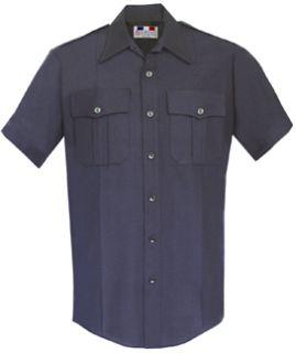 Fechheimer 97R6676 Mens Short Sleeve Police Shirt Midnight blue