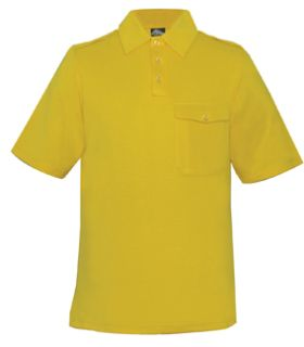 Fechheimer A730GD Gold Power dry Jersey Shirt