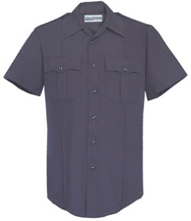Fechheimer UD12000 Navy Short Sleeve With Zipper