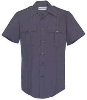 Fechheimer UD12010 Navy Short Sleeve Female Shirt With Zipper