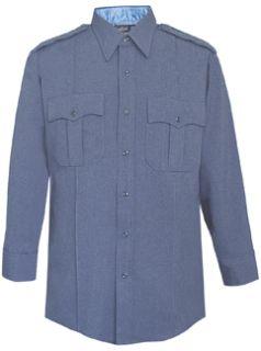 Fechheimer UD12037 forest Blue Long Sleeve Female Shirt With Zipper