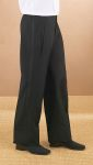 Fabian Couture Group International 3534PL Wool Pleated Comfort Waist Tux Pant