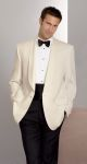 Fabian Couture Group International 567C, 100% Polyester Ivory Dinner Jacket