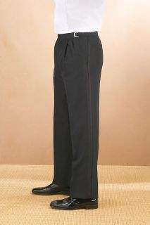 Fabian Couture Group International 6052P 55/45 Poly/Wool Pleated Adjustable Waist Tux Pant