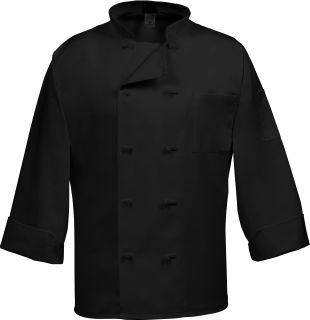 Fame Fabrics C10F 10 Button French Knot Chef Coat