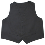 Fame Fabrics V41L Male Fitted Vest - Larger Dimension