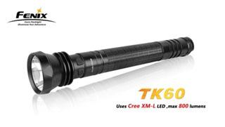 Fenix TK60 Fenix TK60 Tactical Led Flashlight